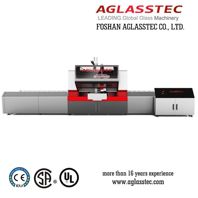 Straight Line Glass Pencil Edger Processing Machine
